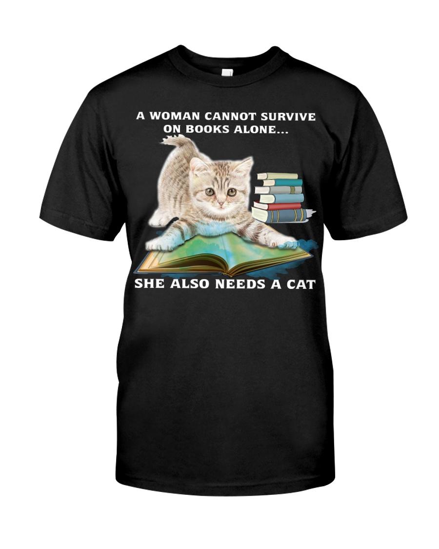 SHE NEEDS A CAT Classic T-Shirt