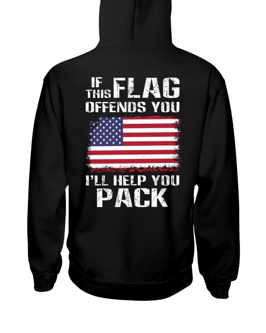IF THIS FLAG Hooded Sweatshirt