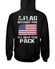 IF THIS FLAG Hooded Sweatshirt back