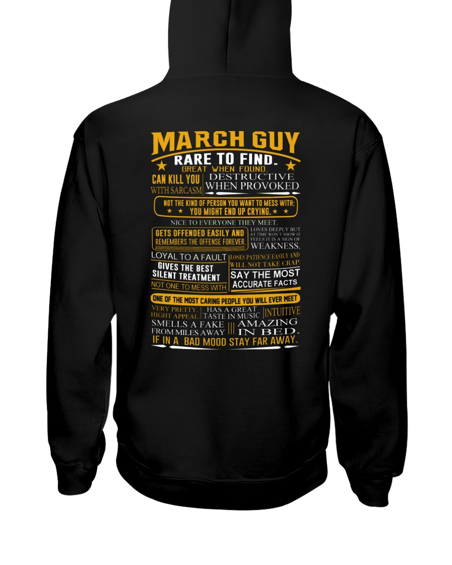 AMAZING-GUY-3 Hooded Sweatshirt