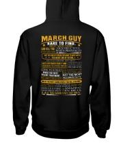 AMAZING-GUY-3 Hooded Sweatshirt back