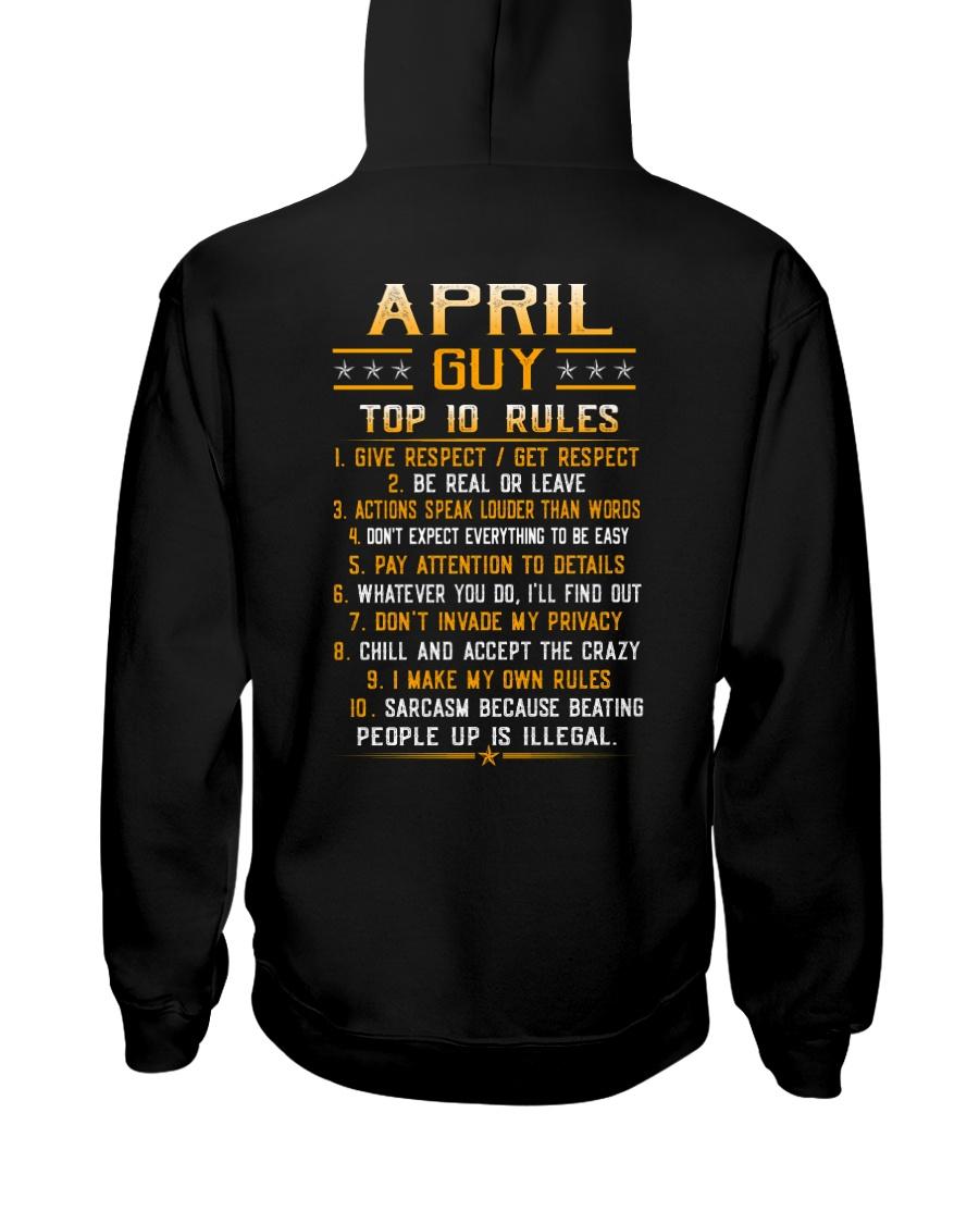US-GUY RULES-4 Hooded Sweatshirt