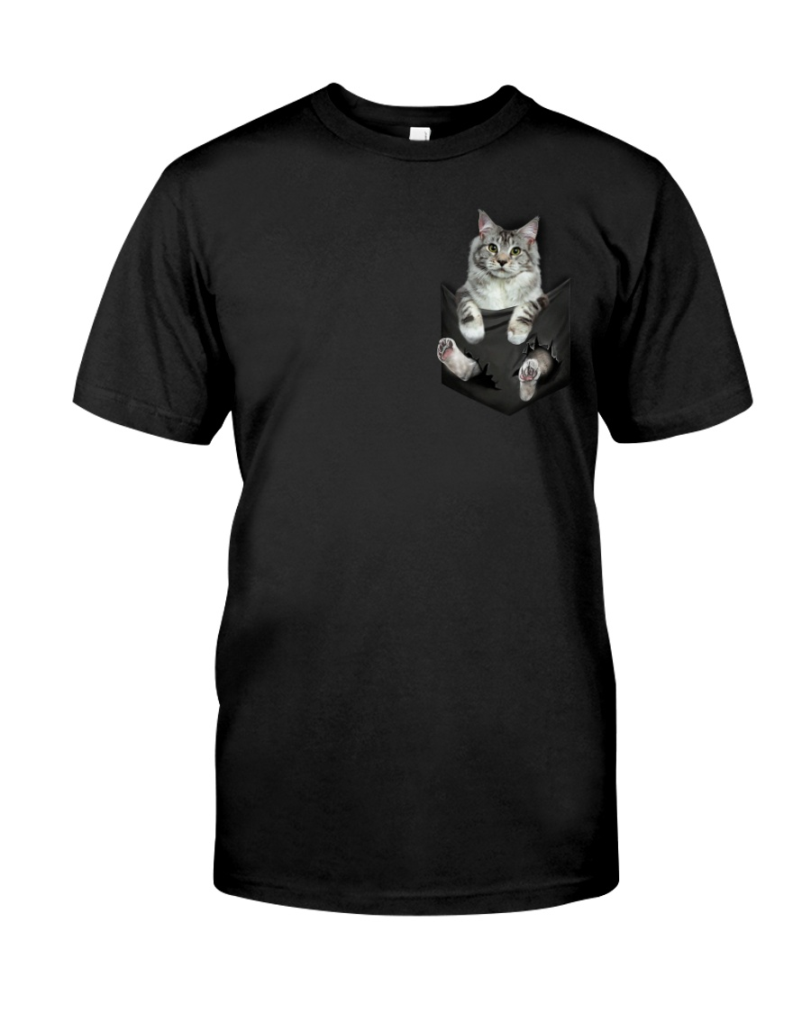 CAT IN THE POCKET Classic T-Shirt