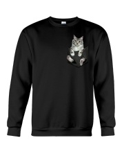 CAT IN THE POCKET Crewneck Sweatshirt thumbnail