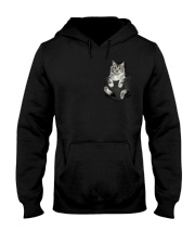 CAT IN THE POCKET Hooded Sweatshirt thumbnail