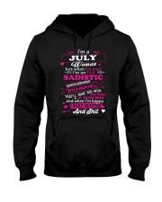 MAD WOMAN-7 Hooded Sweatshirt front