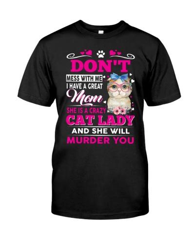 MOM - CRAZY CAT LADY