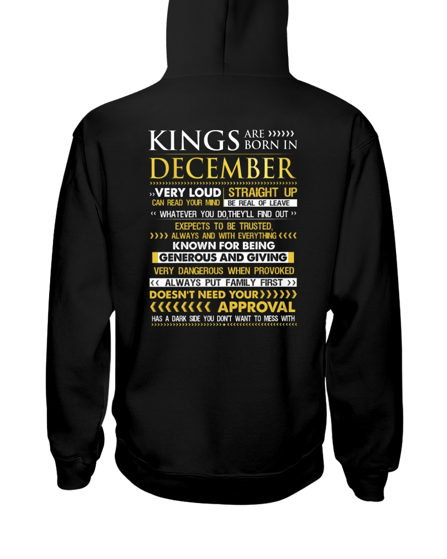 TRUE-KING-12 Hooded Sweatshirt