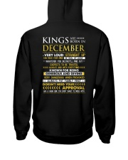 TRUE-KING-12 Hooded Sweatshirt back