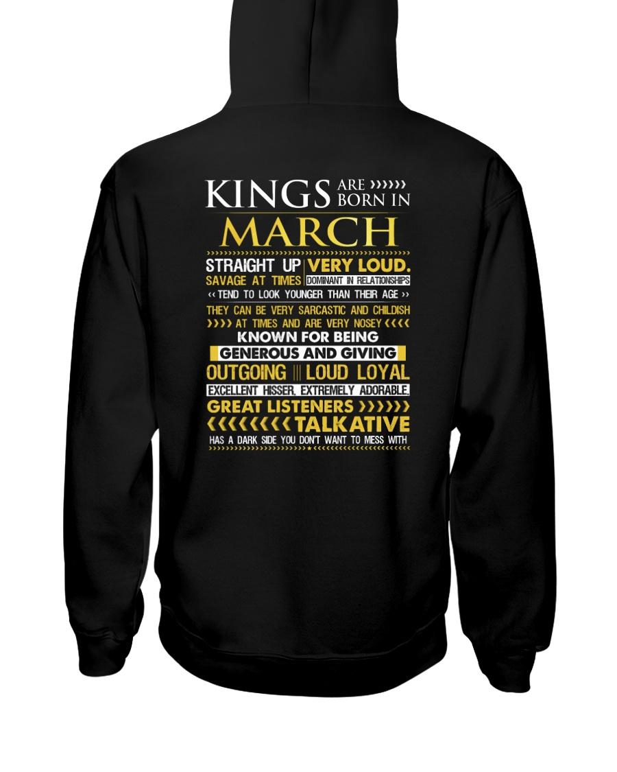 US-ROYAL-BORN-KING-3 Hooded Sweatshirt
