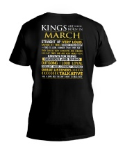 US-ROYAL-BORN-KING-3 V-Neck T-Shirt thumbnail