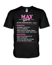US-ACTIVE GIRL-5 V-Neck T-Shirt thumbnail