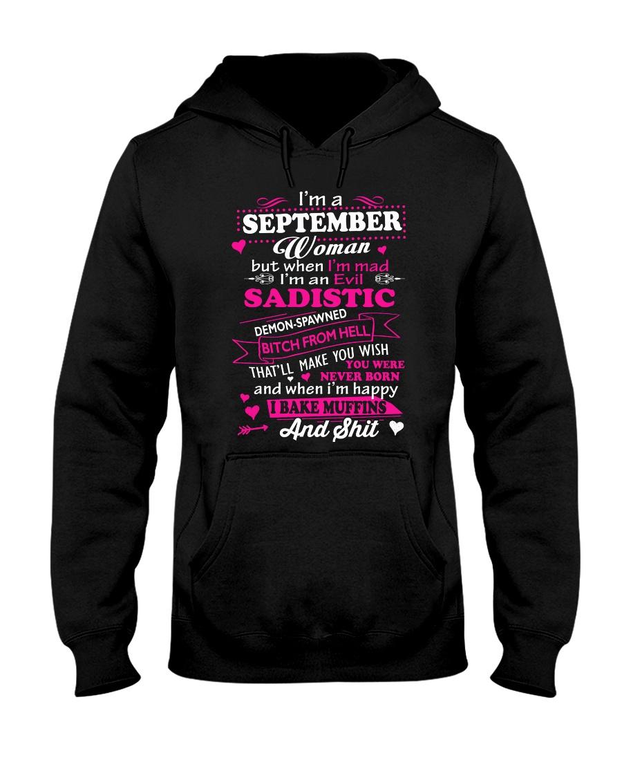 MAD WOMAN-9 Hooded Sweatshirt