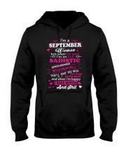 MAD WOMAN-9 Hooded Sweatshirt front