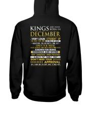 TTRUE-KING-12 Hooded Sweatshirt back
