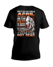 SON OF GOD - US - 4 V-Neck T-Shirt thumbnail