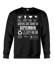 Queens fact-9 Crewneck Sweatshirt thumbnail