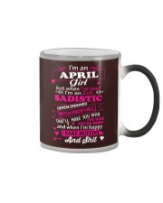 MAD GIRL-4 Color Changing Mug thumbnail