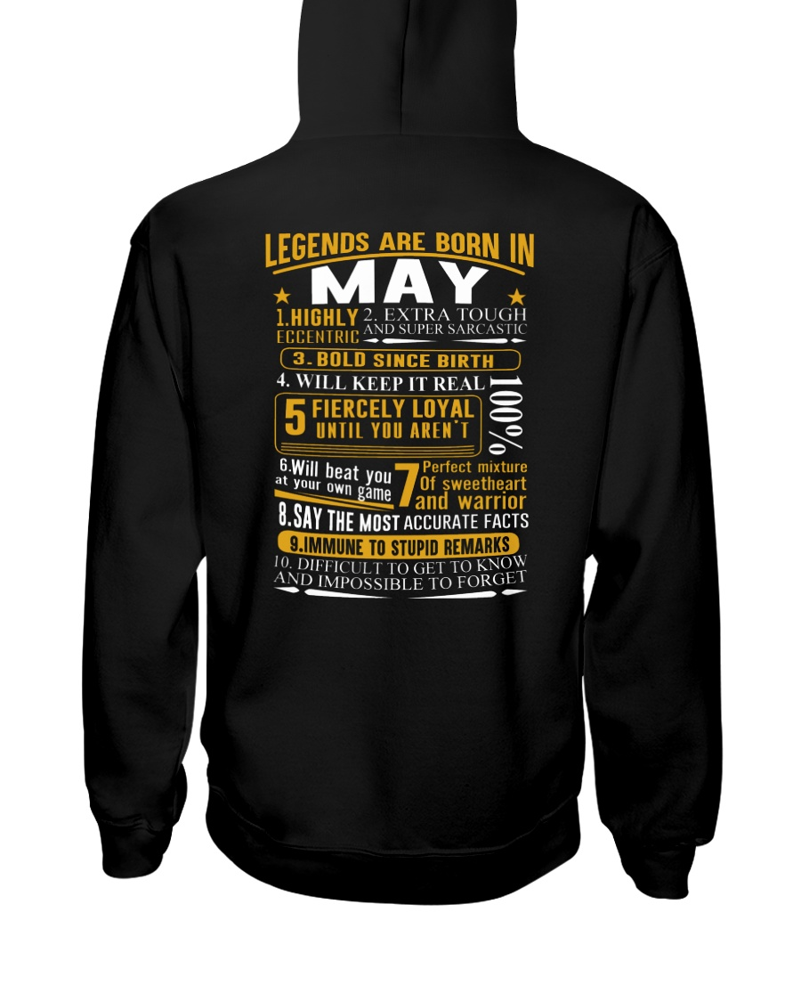 LEGENDS BORN-GUY-5 Hooded Sweatshirt