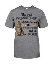 POWERFUL FOUR PAWS Classic T-Shirt thumbnail