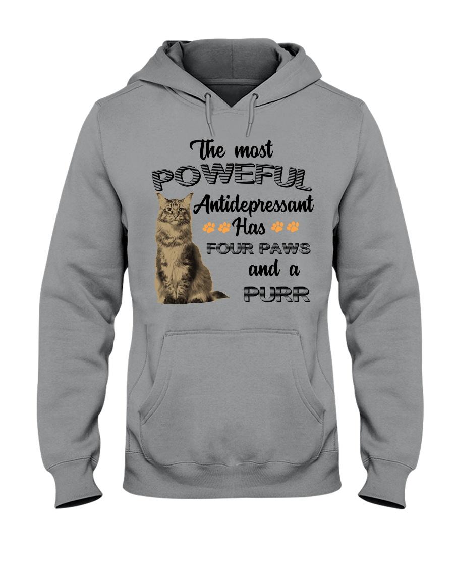 POWERFUL FOUR PAWS Hooded Sweatshirt