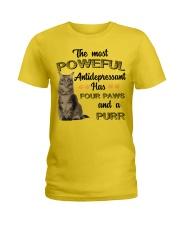 POWERFUL FOUR PAWS Ladies T-Shirt thumbnail