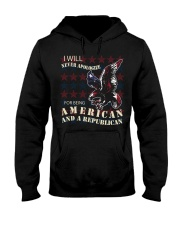 NEVER APOLOGIZE Hooded Sweatshirt tile