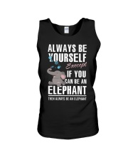 YOU CAN BE-ELEPHANT Unisex Tank tile