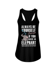 YOU CAN BE-ELEPHANT Ladies Flowy Tank thumbnail