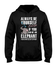 YOU CAN BE-ELEPHANT Hooded Sweatshirt front