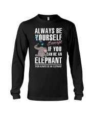 YOU CAN BE-ELEPHANT Long Sleeve Tee tile