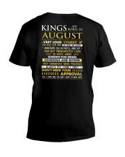 US-TTRUE-KING-8 V-Neck T-Shirt thumbnail