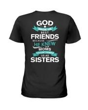 GOD FRIENDS-SISTER Ladies T-Shirt thumbnail