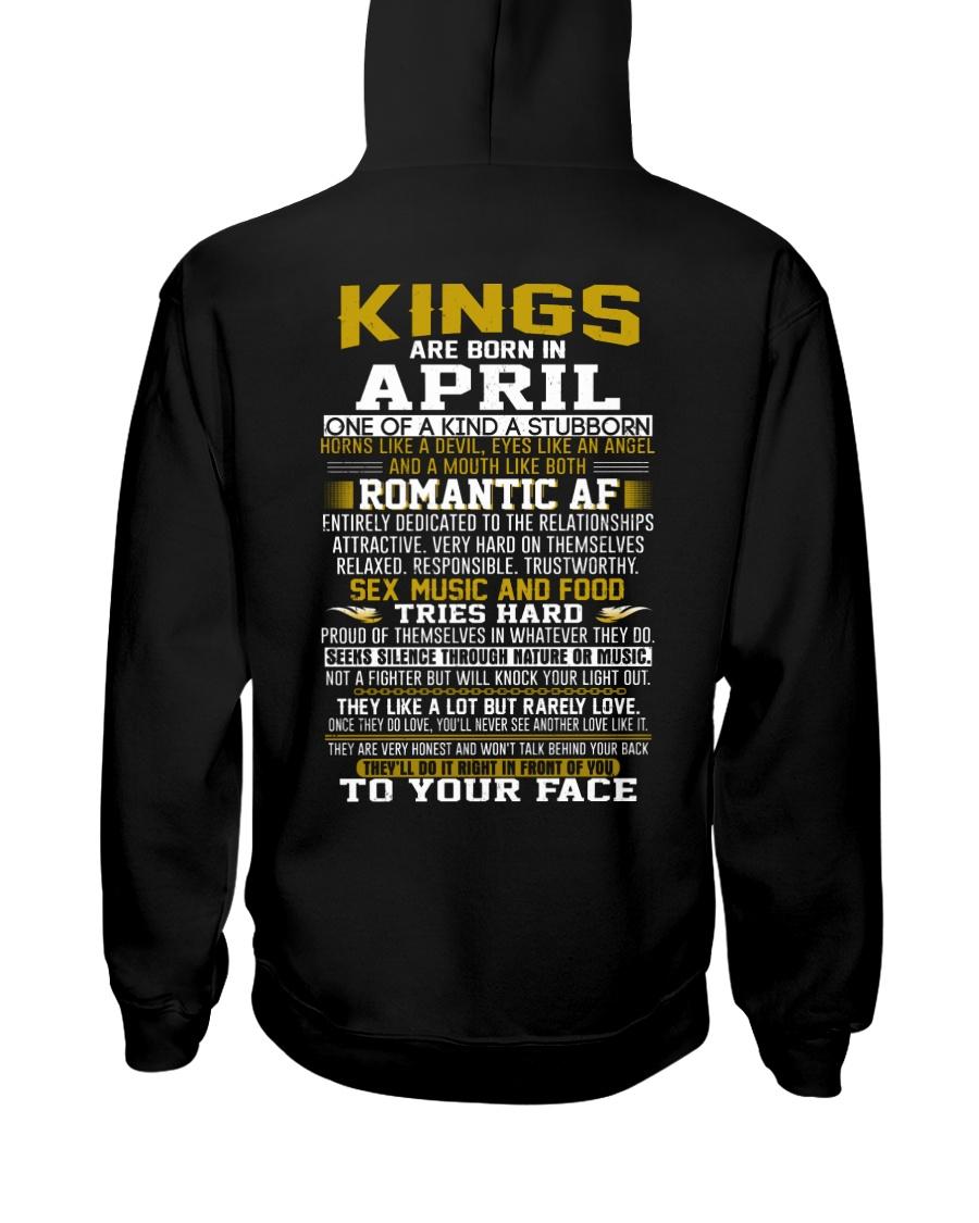 KING BORN IN-APRIL Hooded Sweatshirt