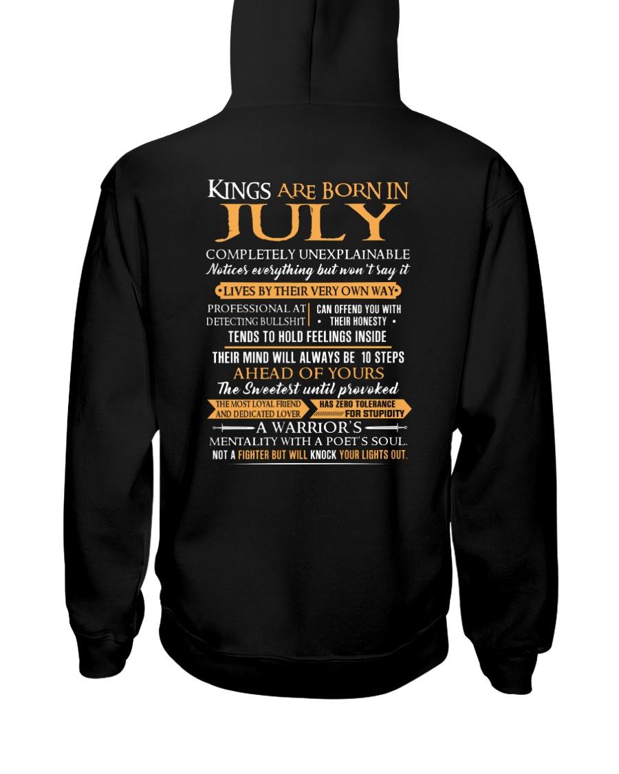 KING BORN US-7 Hooded Sweatshirt