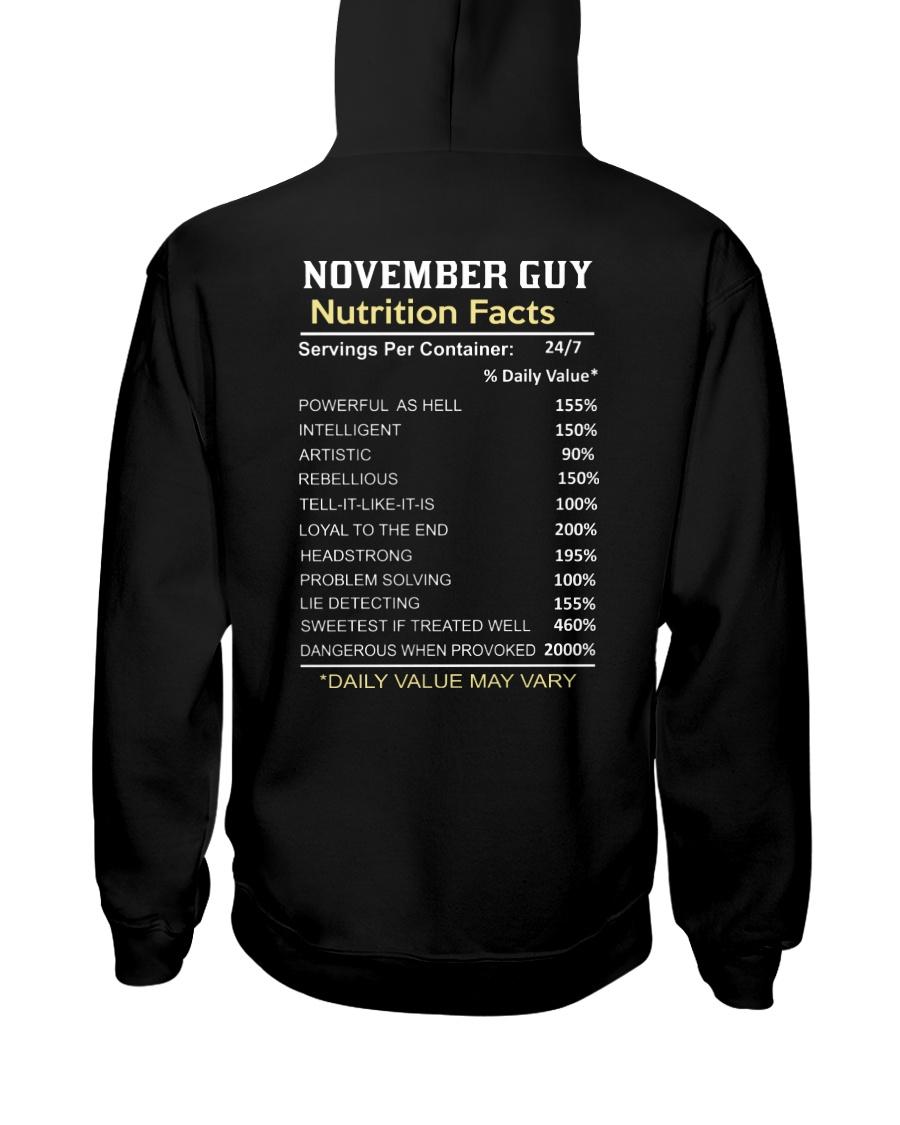 US-GUY FACT-11 Hooded Sweatshirt