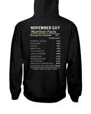 US-GUY FACT-11 Hooded Sweatshirt back