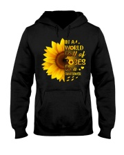 WORLD OF ROSE Hooded Sweatshirt front