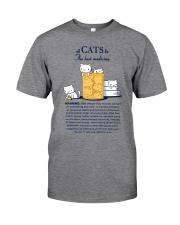 CATS - THE BEST MEDICINE Classic T-Shirt thumbnail