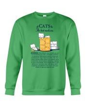 CATS - THE BEST MEDICINE Crewneck Sweatshirt thumbnail