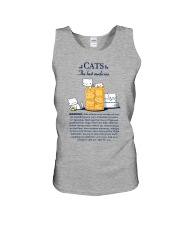 CATS - THE BEST MEDICINE Unisex Tank thumbnail