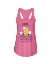 CATS - THE BEST MEDICINE Ladies Flowy Tank thumbnail