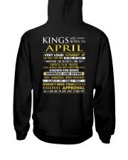 TRUE-KING-4 Hooded Sweatshirt back