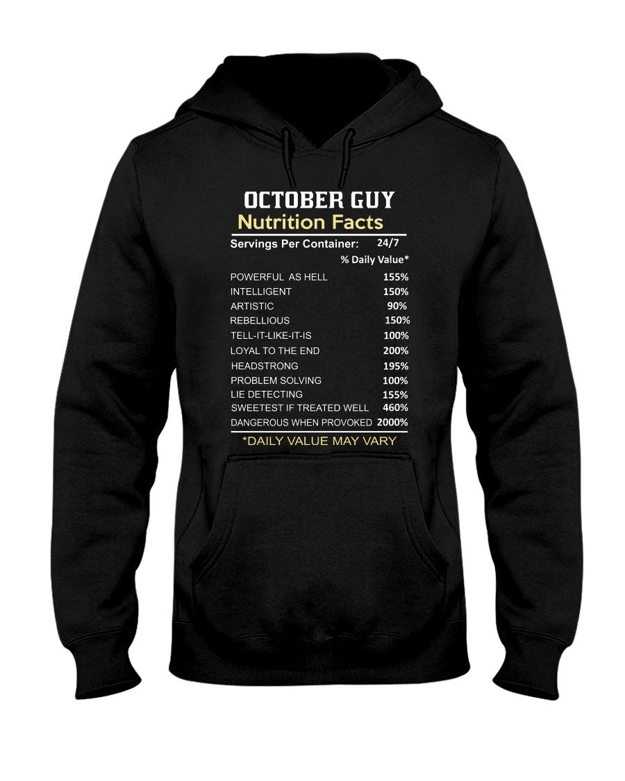 FR-GUY FACT-10 Hooded Sweatshirt