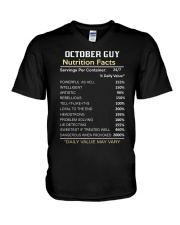 FR-GUY FACT-10 V-Neck T-Shirt thumbnail