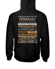 ITALIAN-QUEENS-BORN-2 Hooded Sweatshirt back