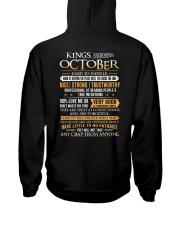 KINGS-STRONG-10 Hooded Sweatshirt back