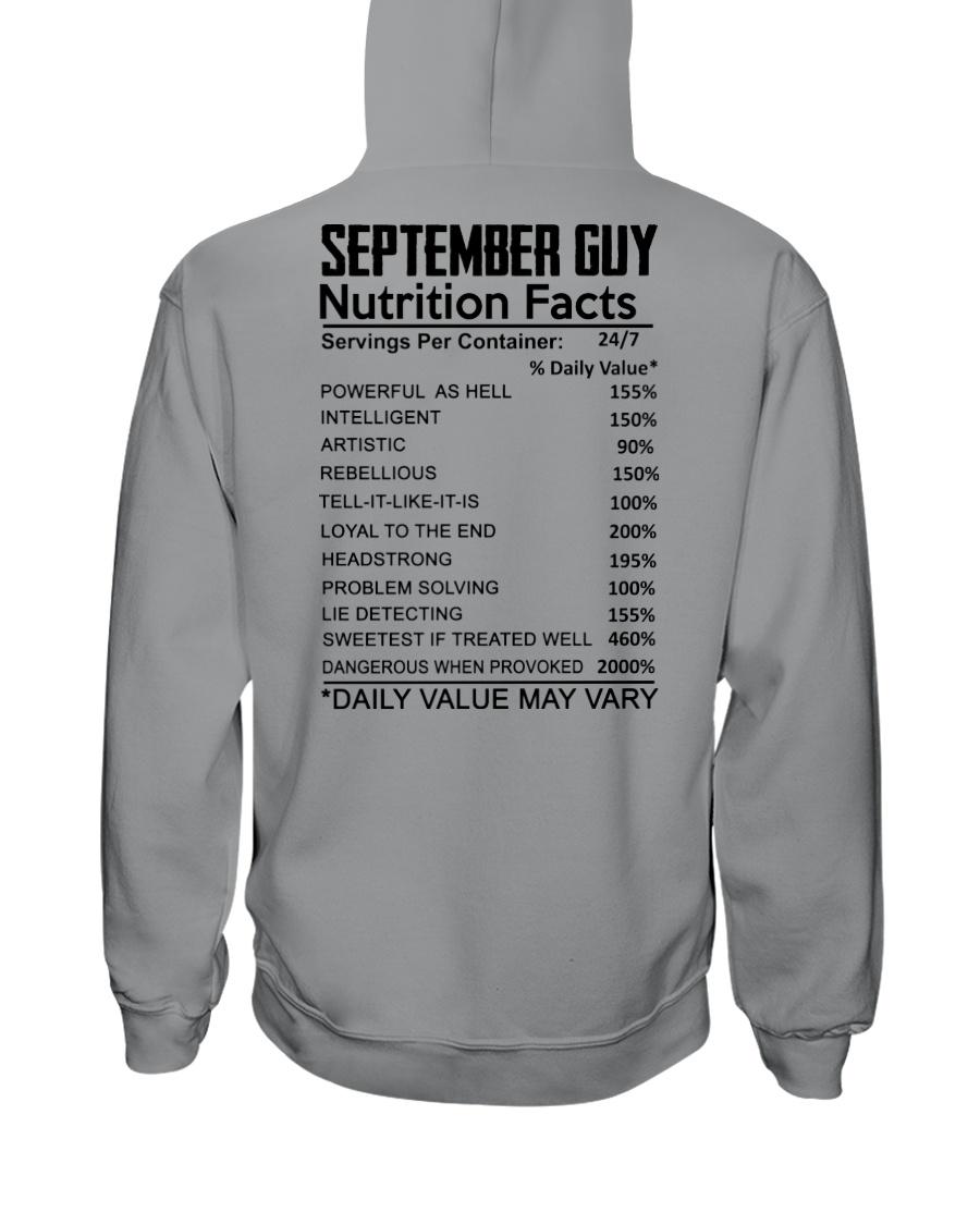 W-GUY FACT US-9 Hooded Sweatshirt