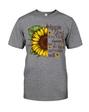 HIPPIE GIRL-MYFACE Classic T-Shirt tile