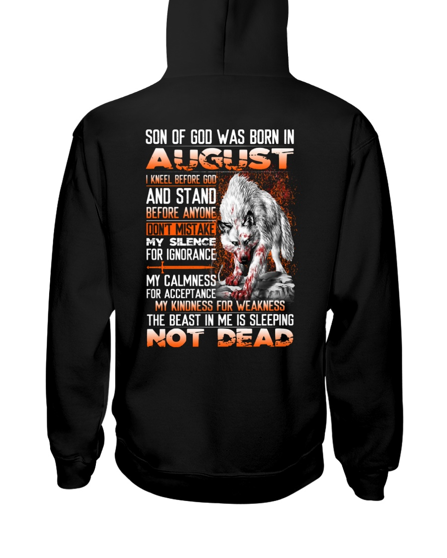 SON OF GOD - US - 8 Hooded Sweatshirt